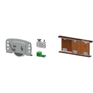 80kg. ADJUSTABLE SLIDING DOOR MECHANISM