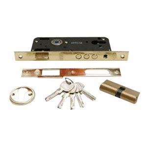 45mm CIRCULAR CYLINDER LOCK. 3 National BİRYALI 68 MM. BAREL
